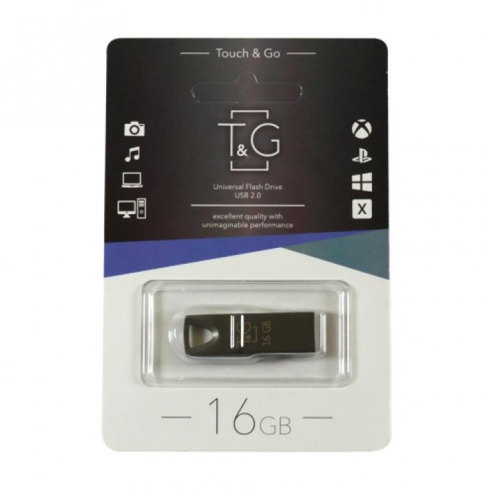 USB флешка T&G 16GB Metal series 117