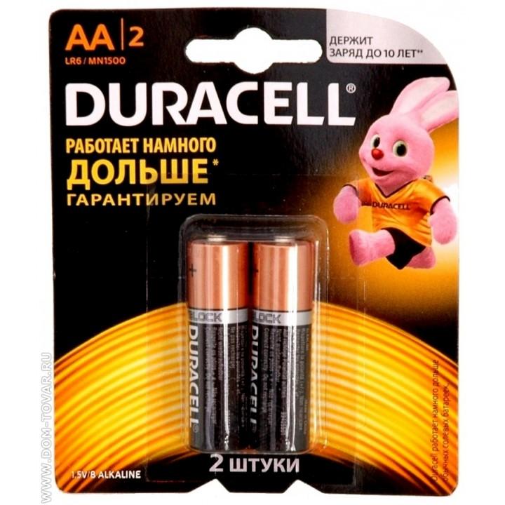 Батарейка Duracell simply LR06 на блистере