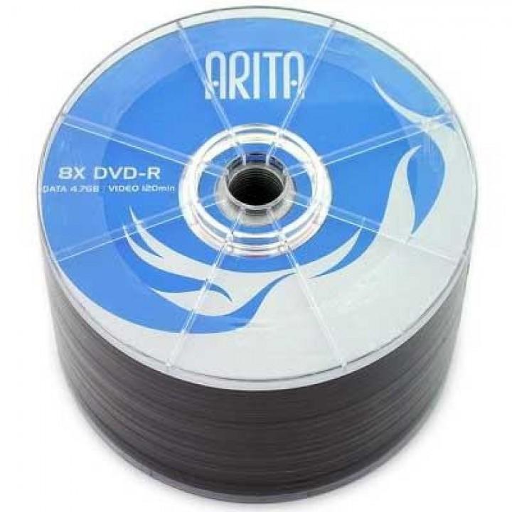 Диски DVD-R ARITA 4,7 Gb 8-16 bulk (упаковка 50шт )