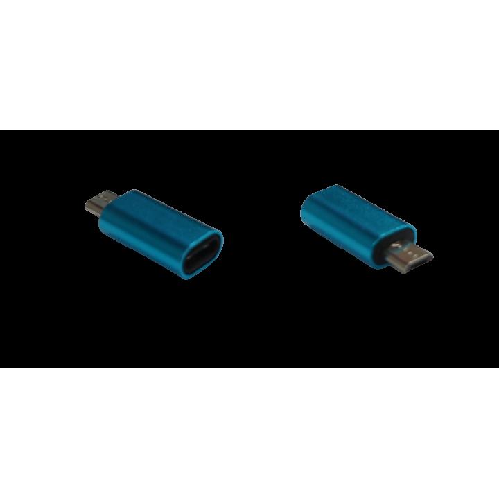 Переходник v8 micro M/type-c F