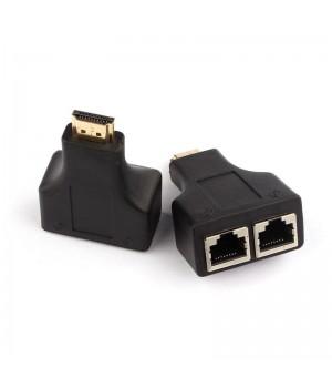 Переходник HDMI/2 по витой паре RJ45 Cat 5e/6