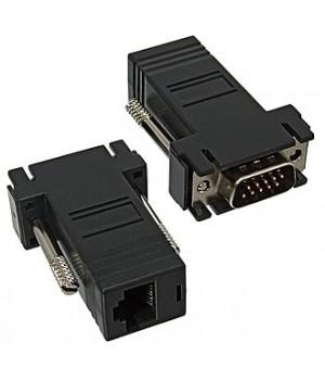Переходник  VGA m to Rj45 (1 шт)