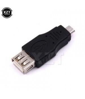 Переходник-штекер USB  Af/v8 черный