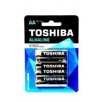 Батарейки Toshiba Alkaline LR06 AA блистер 4шт