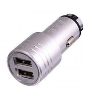 Автомобильное зарядное устройство Soloffer  C201 + кабель usb iphone