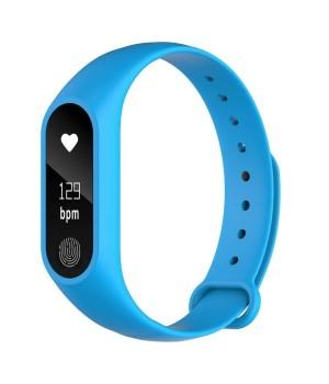 Фитнес-браслет M2 mi band(b quality) blue