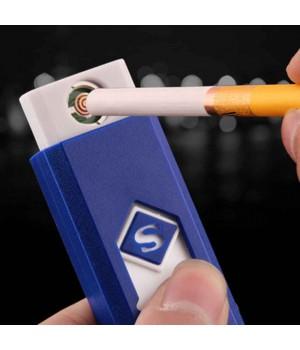 "Зажигалка ""S"" USB спиральная на блистере"