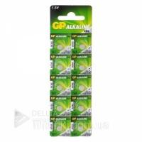 Батарейка GP GP164, AG1, (цена указана за блистер