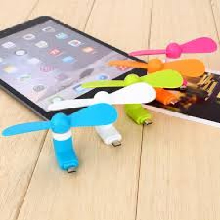 Мини-вентилятор micro USB для смартфонов