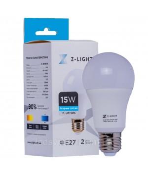 Светодиодная лампа Z-LIGHT A60 15w 6400k E27(16515276)
