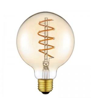 LED лампа VIDEX Filament G95ASD 5W E27 2200K 220V димерная