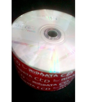Диски CD-R RiData 700 mb 52xbulk (упаковка 50 шт)