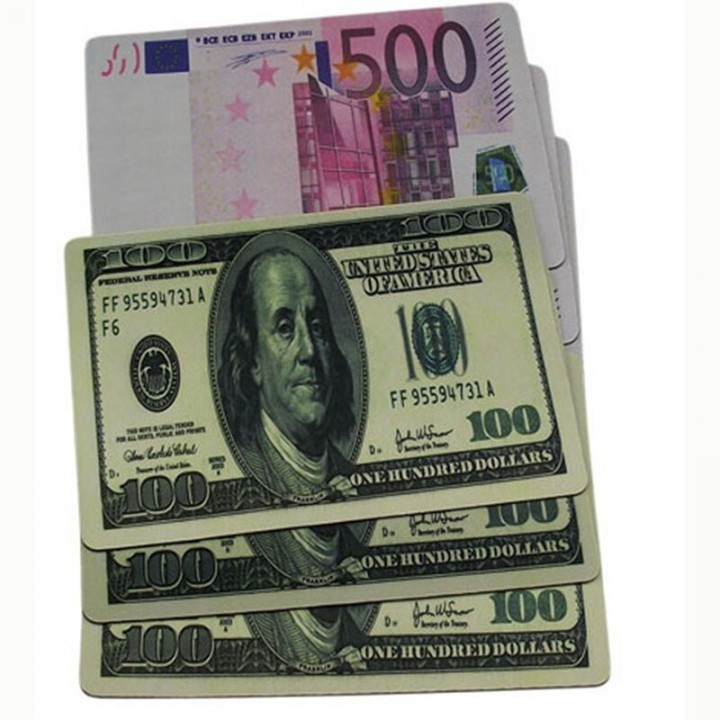 Коврик деньги small (18*22)