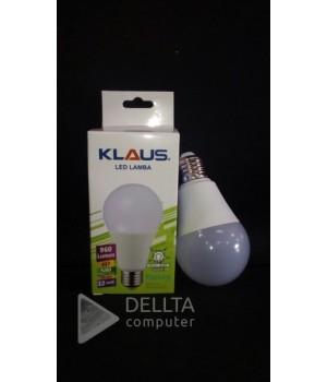 Светодиодная лампа KLAUS E27 12w 6500k