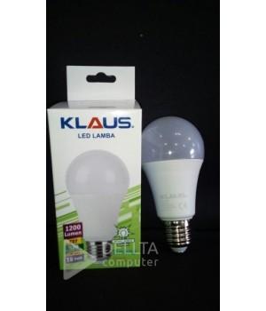 Светодиодная лампа KLAUS E27 15w 6500k