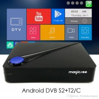 Android Tv Box,DVB-T2, DVB-C, DVB-S2, IPTV Magicsee C300