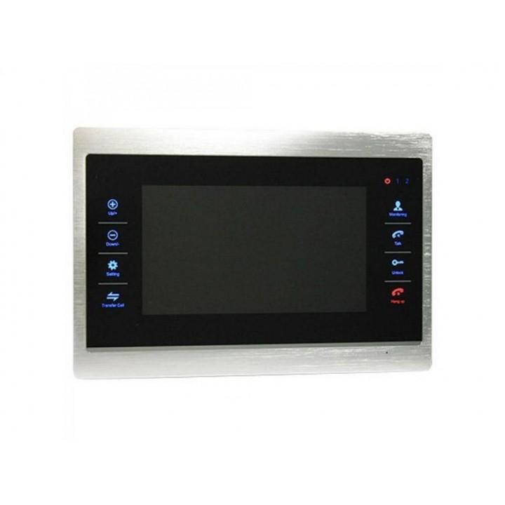 Видеодомофон Green Vision GV-055-AHD-J-VD7SD Silver (LP6745)