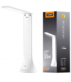 Videx лампа настольная VL-TF01W аккумуляторная