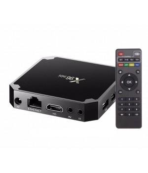 ТВ-приставка TV box X96 mini 2/16 с ИК-датчик опция amlogic S905W android 7,1 quad core smart 4 K google tv box