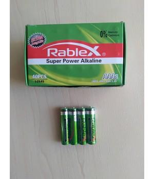 Батарейка Rablex Super Alkaline LR03 AAA 1.5V