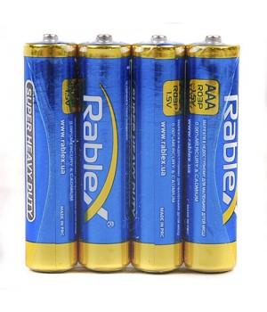 Батарейка Rablex Super  R03 AAA 1.5V (упаковка 60 батареек)