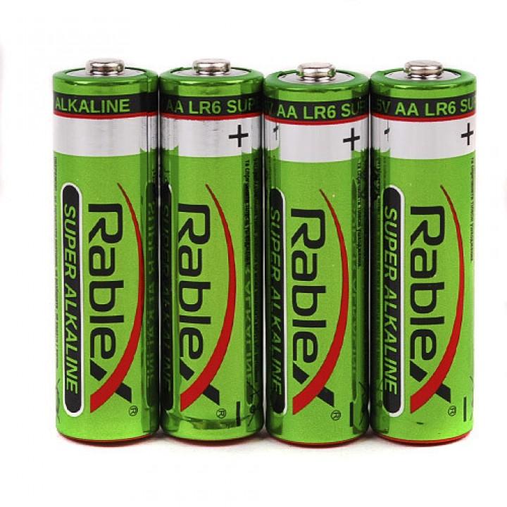 Батарейка Rablex Super Alkaline LR6 AA 1.5V