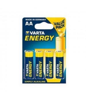 Батарейка Varta LR06 Energy блистер 4 батарейки