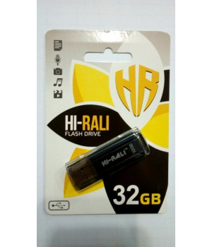 USB Флешка Hi-Rali 32GB Stark series Black