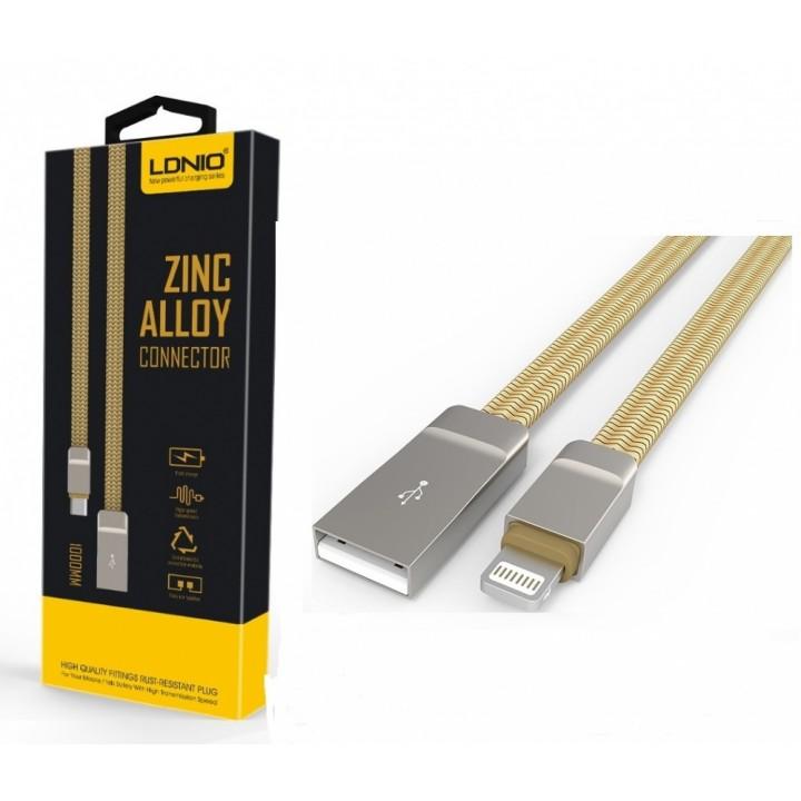 Кабель USB LDNIO LS20 Lightining