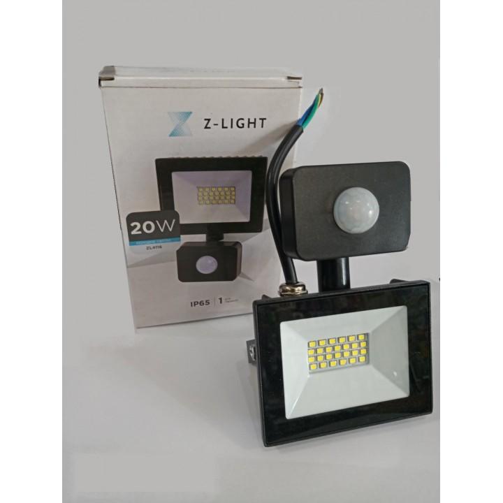 Прожектор Z-light ZL-4116 SMD 20W с датчиком