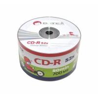 Диски CD-R DATEX 700mb 52*bulk (упаковка 50 шт)