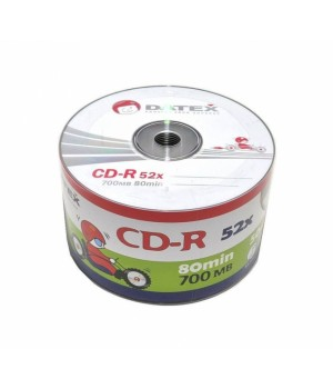 Диски CD-R DATEX 700mb 52*bulk (упаковка 50 шт)