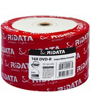 Диски DVD-R RiData 4.7Gb 16xbulk (упаковка 50 шт)