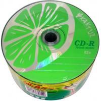 Диски DVD-R KAKTUZ lime 700mb 52*bulk (50шт. упаковка)
