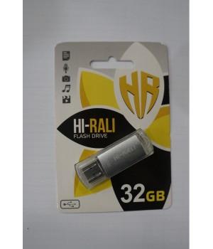 USB флешка Hi-Rali 32GB Rocket series Silver