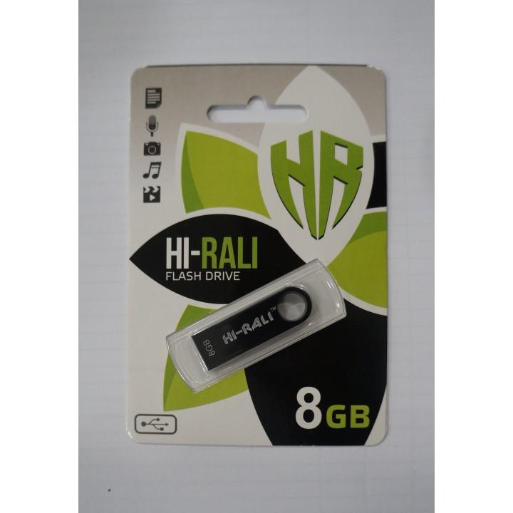 USB Флешка Hi-Rali 8GB Shuttle black