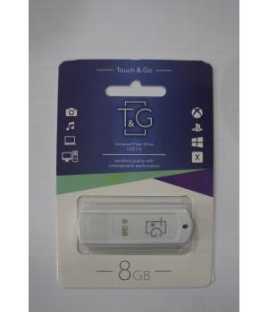USB флешка T&G 011 Classic series 8GB white