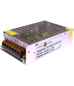 Блок питания ND Green VisionGV-SPS-C 12V5A L(60W) импульсный,металлический