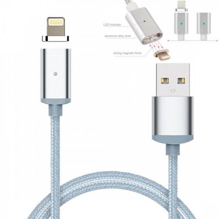 Кабель USB магнитный для Iphone (Lightning)