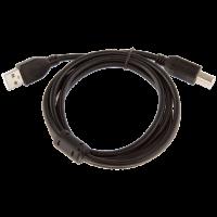 Кабель USB для принтера AM/BM 1.5m black 2.0 с фильтром TT301