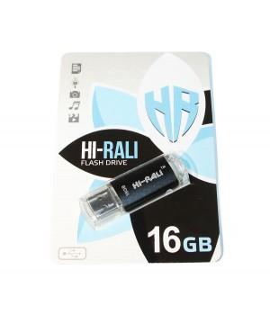 USB Флешка 16Gb Hi-Rali Rocket series Black / HI-16GBVCSL
