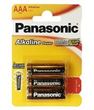 Батарейка Panasonic alkaline LR03 (блистер 4 батарейки)