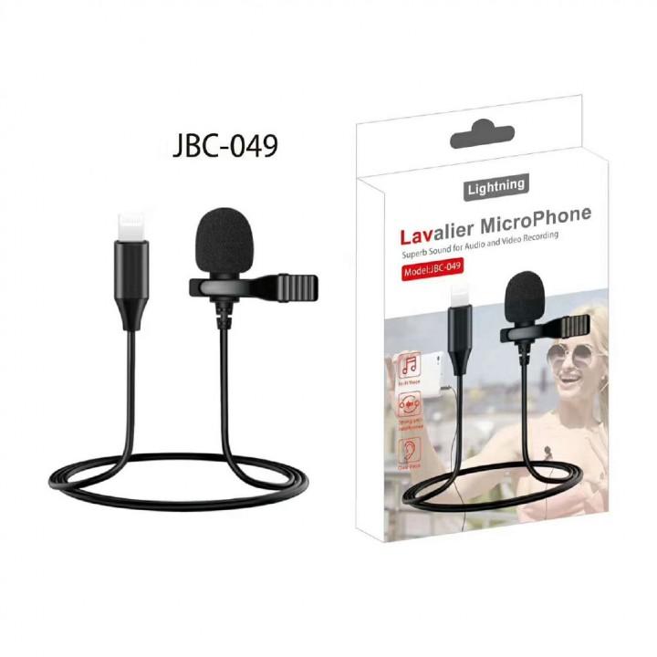 Петличный микрофон JBC-49 Lighting Levalier MicroPhone
