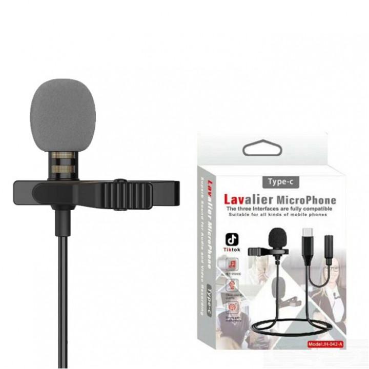 Петличный микрофон JH-42 Type-C Levalier MicroPhone