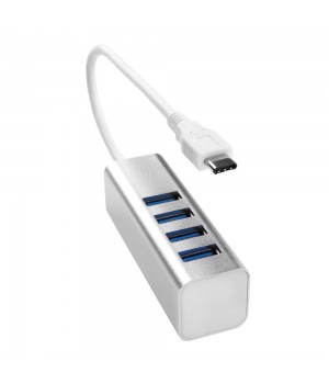 Хаб USB 3.0 Type C to HUB 4 Port
