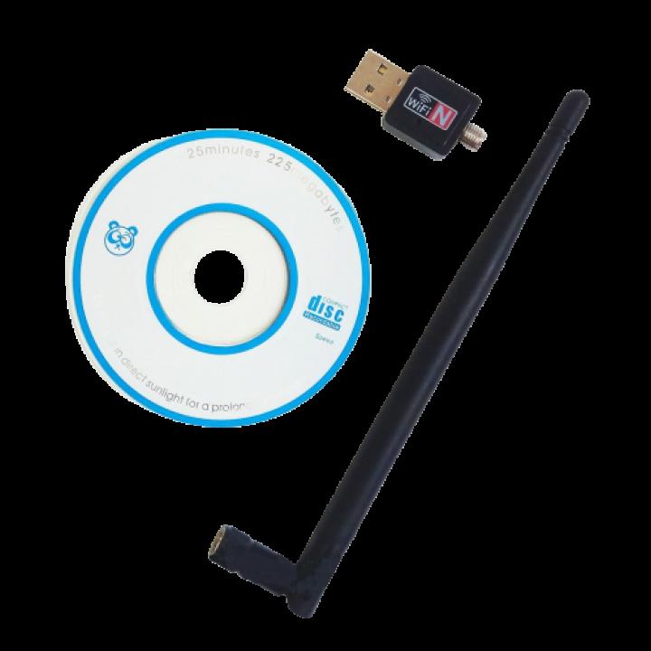Usb wifi адаптер 600Mb c длинной антенной 802.11N