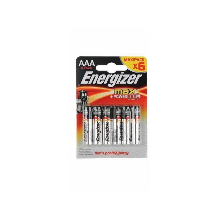 Батарейка Energizer Max LR03 (блистер 6 батареек)