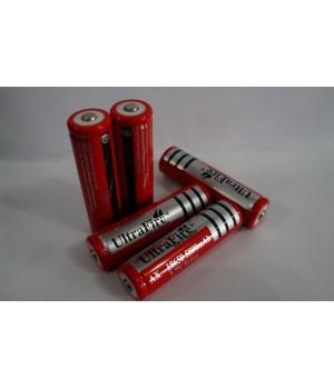 Аккумулятор 18650 5800mAh красный