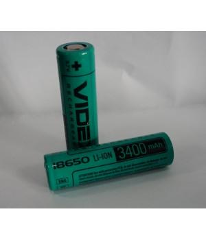 Аккумулятор Videx 18650 3400 mAh Li-Ion (без защиты)