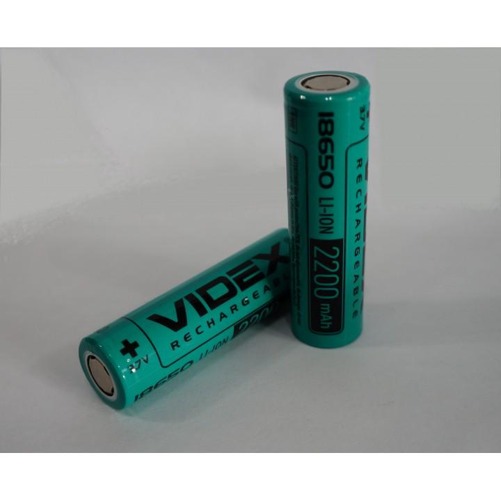 Аккумулятор Videx 18650 2200 mAh Li-Ion (без защиты)